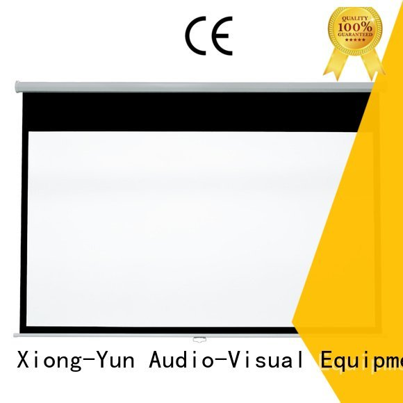 XY Screens Brand school projector pull down rear projection screen screen pull