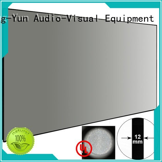 XY Screens Brand screen ambient light projector screen sphkblack rejecting