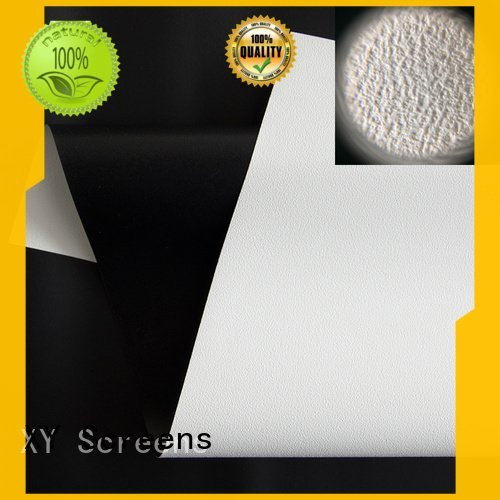 HD home theater projection screens with soft PVC fabric wf1 front and rear fabric pet
