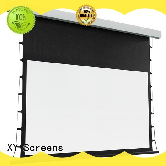 tab tensioned projector screen reviews light rejecting for home XY Screens