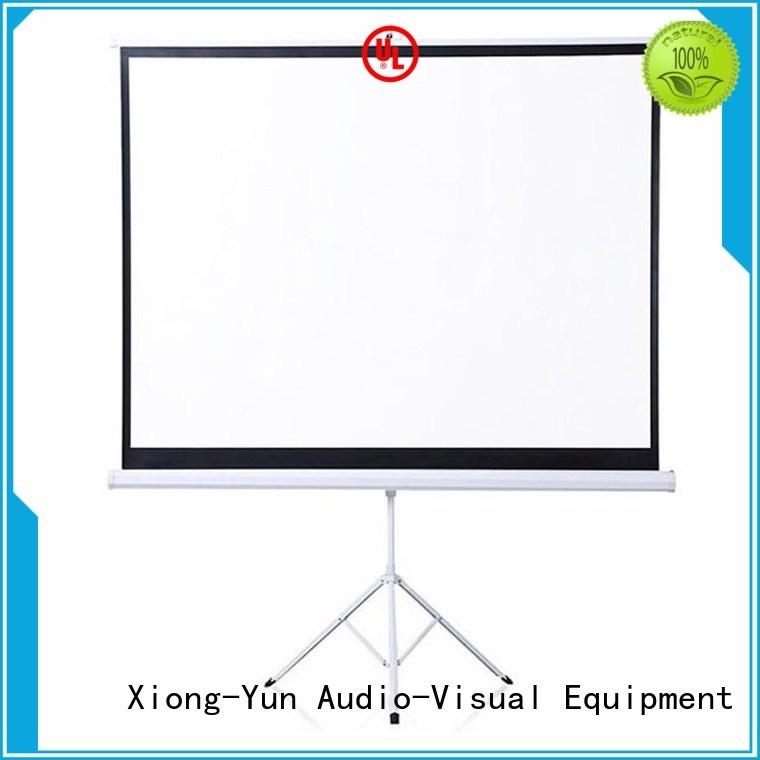XY Screens environmentally portable tripod projector screen supplier for meeting