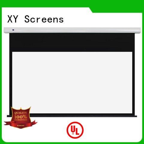 free standing projector screen screen Standard motorized series motorized XY Screens