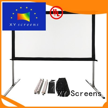 bag portable fold XY Screens outdoor pull down projector screen