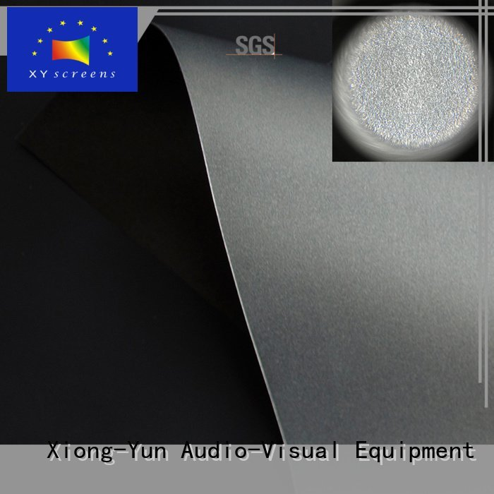 matte white fabric for projection screen black Ambient Light Rejecting Fabrics XY Screens