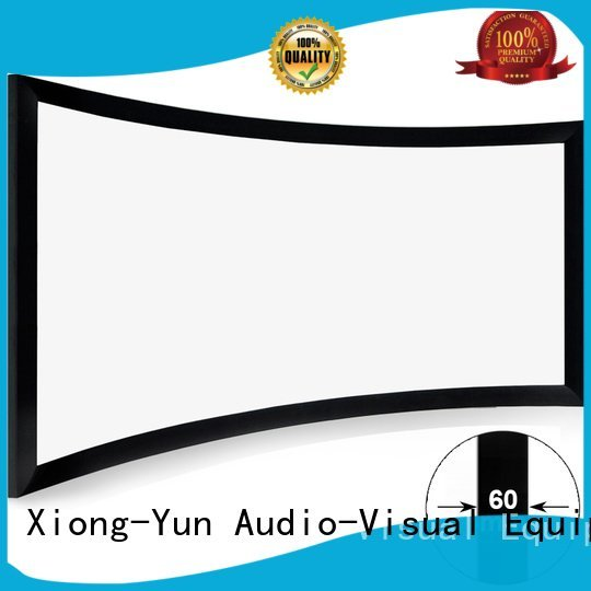 Hot home entertainment projector curved home entertainment center theater XY Screens