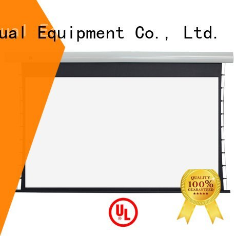 tab tensioned electric projector screen ec2 Tab tensioned series XY Screens Brand