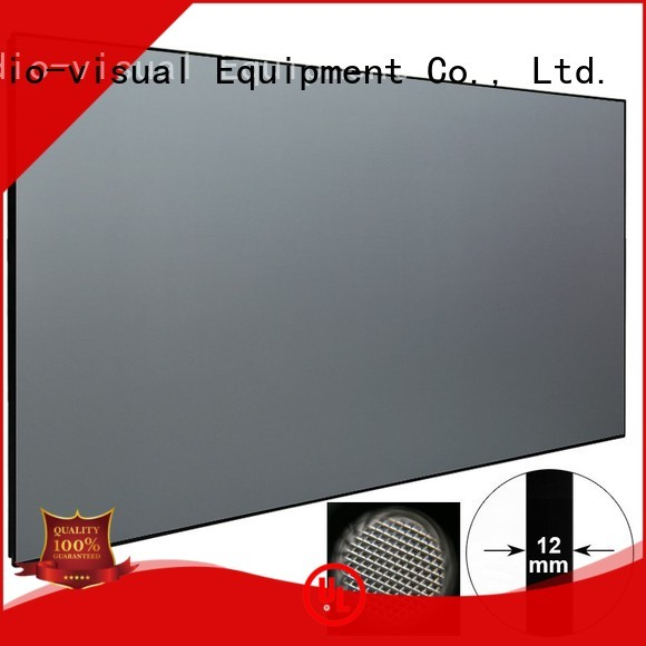 XY Screens Brand crystal ambient throw ultra short throw projector screen manufacture