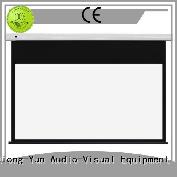 free standing projector screen ec1 home XY Screens Brand