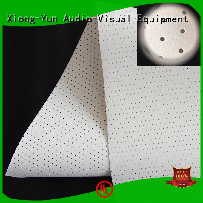 XY Screens Brand fabric sound max mfs1 Acoustically Transparent Fabrics