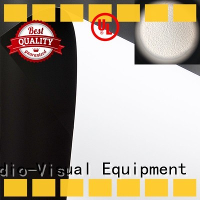front fabrics inquire now for thin frame projector screen XY Screens