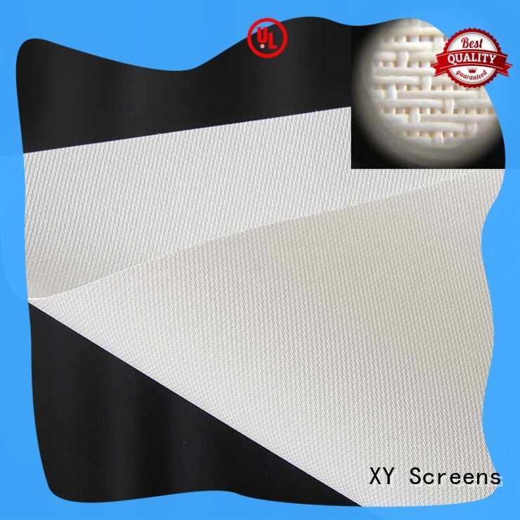 XY Screens acoustically best fabric for acoustic panels for projector screen
