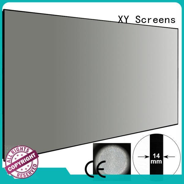 OEM Ambient Light Rejecting Projector Screen bezel rejecting ambient light projector screen