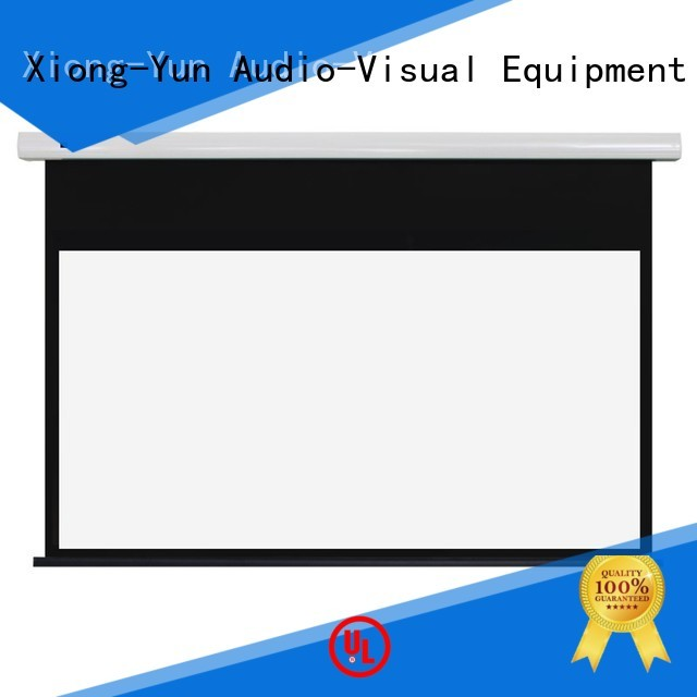 Wholesale theater home Standard motorized series XY Screens Brand