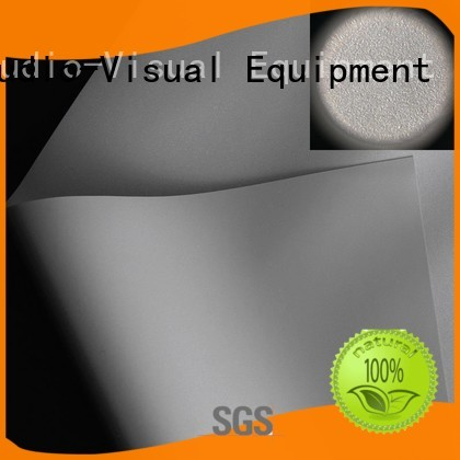XY Screens front and rear fabric with good price for thin frame projector screen