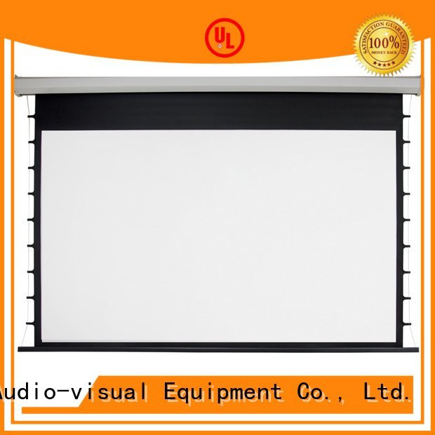 Electric Drop Down Movie Screen drop Motorized Retractable Projector Screen XY Screens Brand