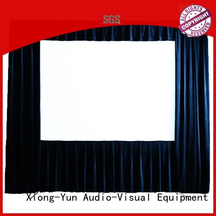 retractable outdoor projector screen personalized