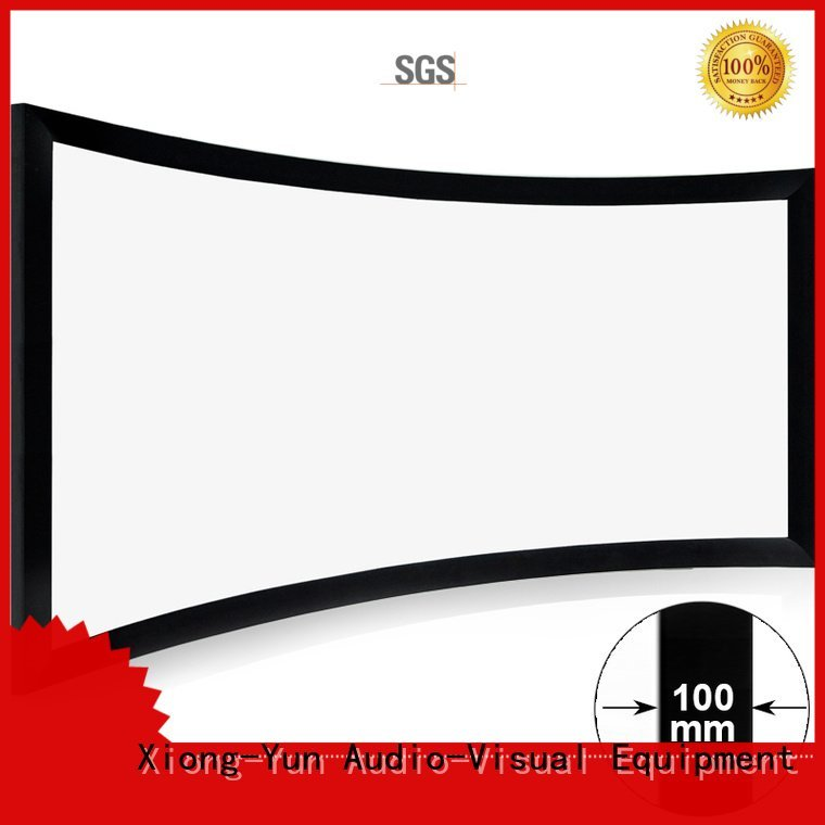 XY Screens Brand widescreen screen home cinema projector curved projector