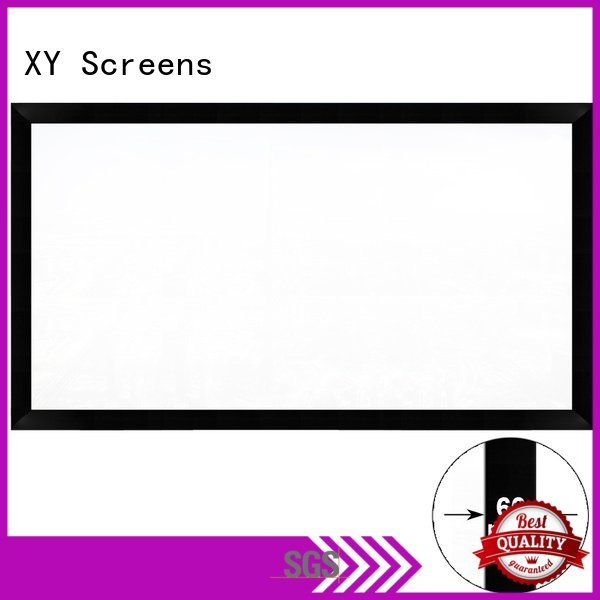 XY Screens Brand hk60b home cinema screen and projector series screen