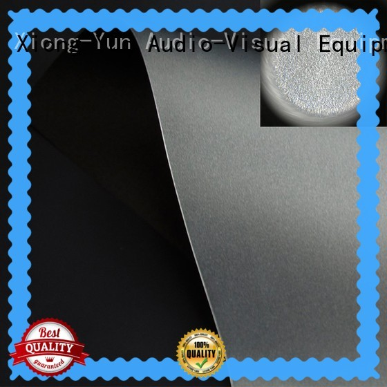 XY Screens projector screen fabric customized for motorized projection screen