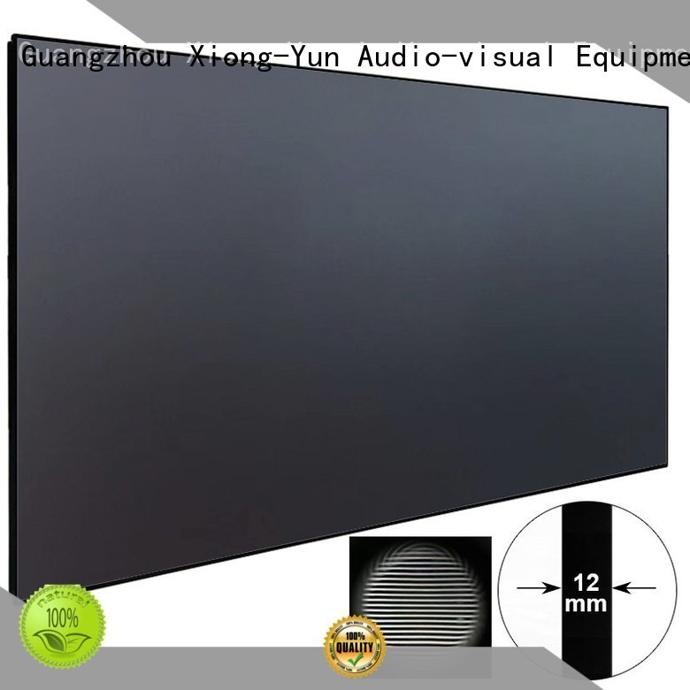 XY Screens aluminum alloy ultra short throw projector for home theater series for television