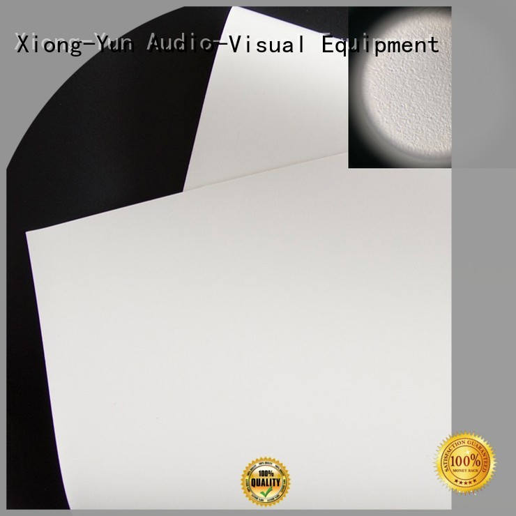 XY Screens Brand bs1 ywf1 white HD home theater projection screens with soft PVC fabric flexible