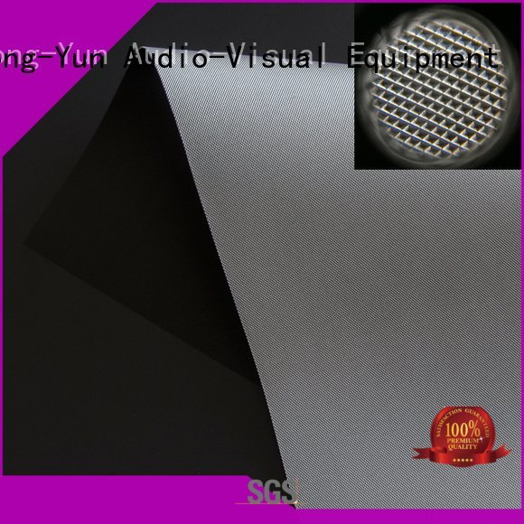OEM matte white fabric for projection screen short gain fabric Ambient Light Rejecting Fabrics