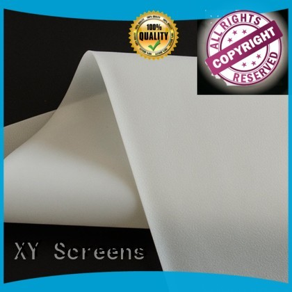 XY Screens flexible Rear Fabrics inquire now for motorized projection screen