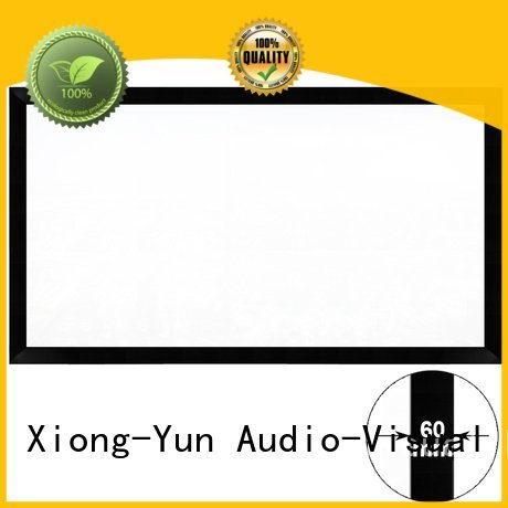 XY Screens Brand frame mini Commercial Fixed Frame Projector Screens fixed hk60b
