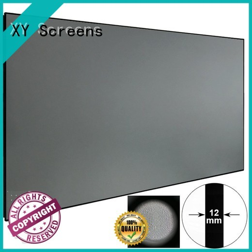 XY Screens light rejecting ambient light projector supplier for home