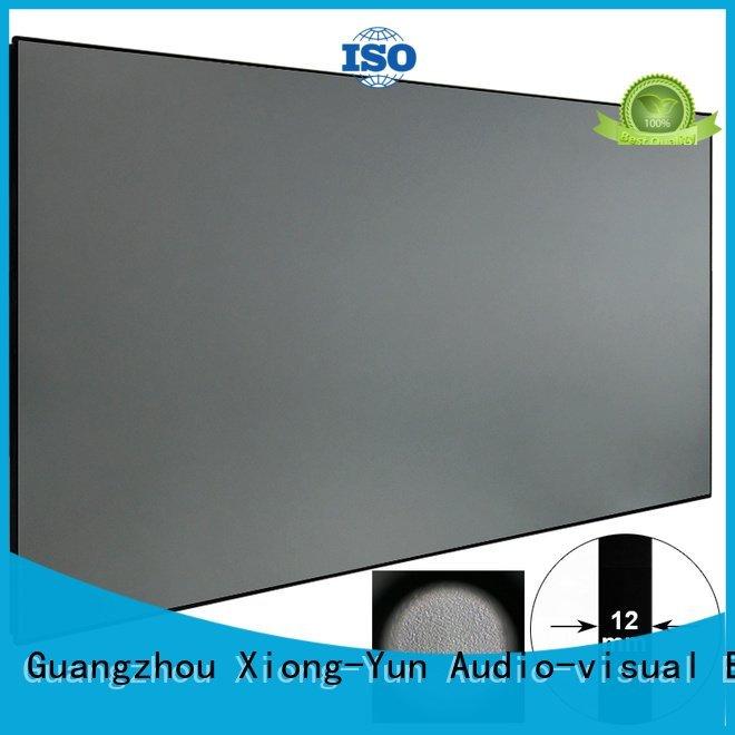 hg sphkblack Ambient Light Rejecting Projector Screen bezel XY Screens
