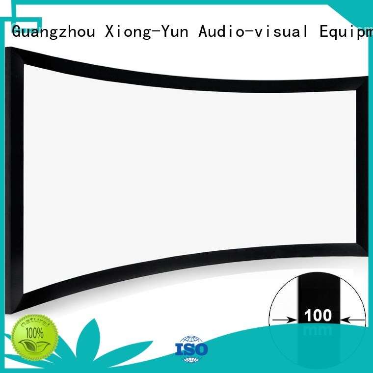 XY Screens curved curved projector screen diy manufacturer for rooms