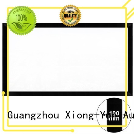 XY Screens curved Projection Screens manufacturer for home
