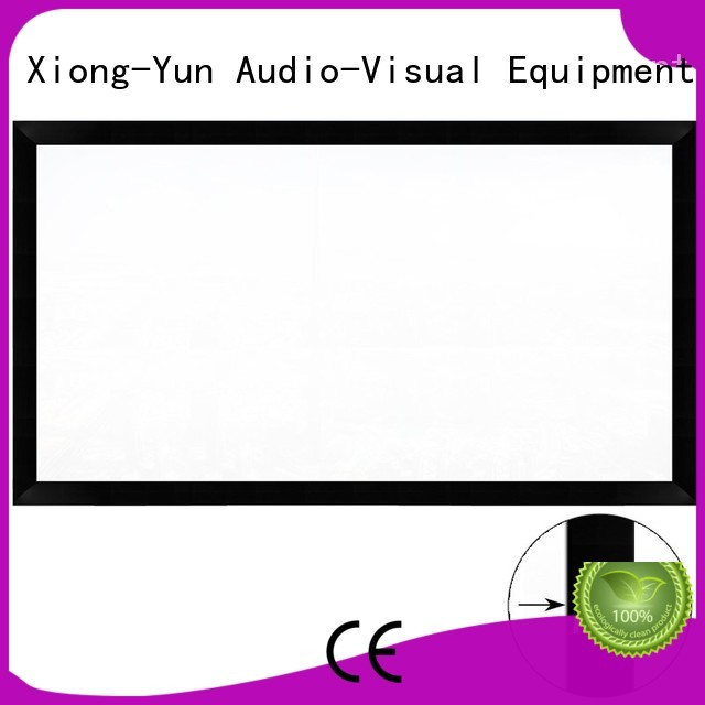 Quality XY Screens Brand hd movie projector screen