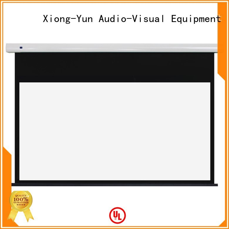 XY Screens free standing projector screen ec1 series intelligent