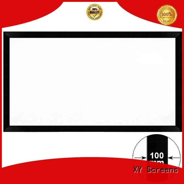 XY Screens Brand projector screen price