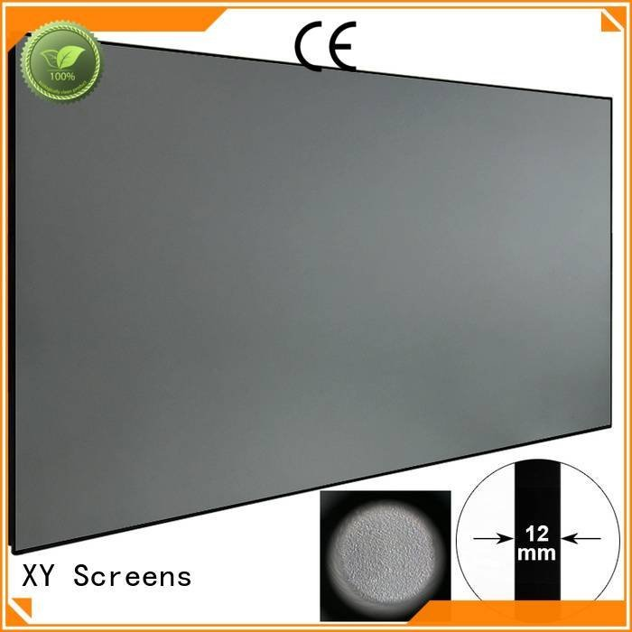 Quality ambient light projector screen XY Screens Brand Ambient Light Rejecting Projector Screen