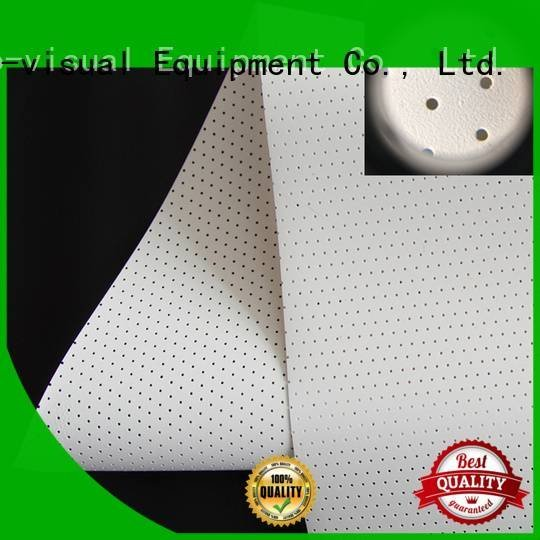 Wholesale Acoustically Transparent Fabrics XY Screens Brand