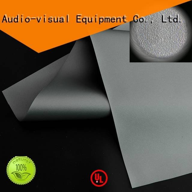 matte white fabric for projection screen XY Screens