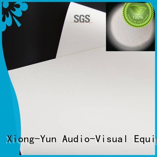 XY Screens Brand HD home theater projection screens with soft PVC fabric