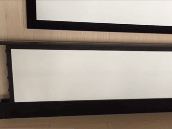 floor stand projection screen