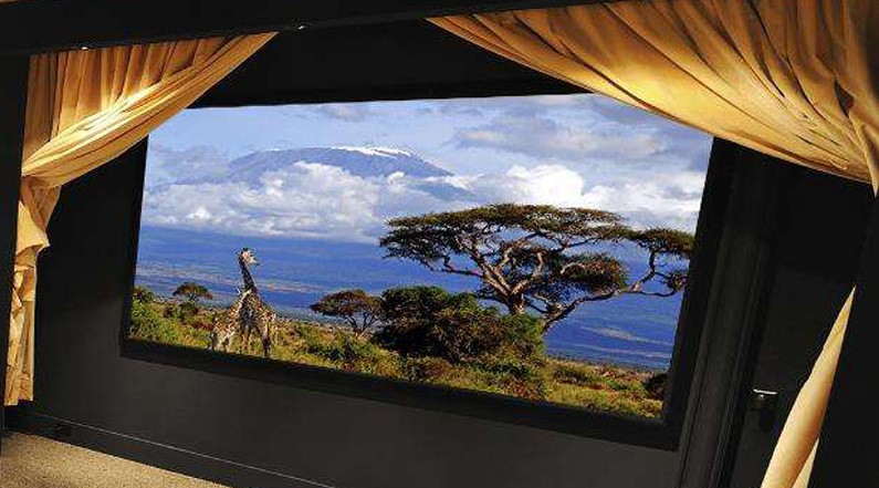 news-XY Screens-XYScreens top end micropore acoustic transparent fixed frame projection screen for h-2