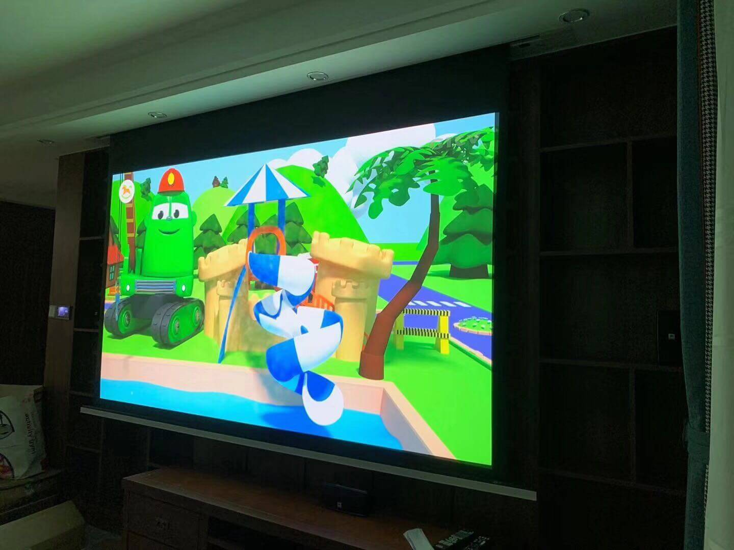 news-Only One Step Turns Your Living Room Into A Theater-XY Screens-img-4