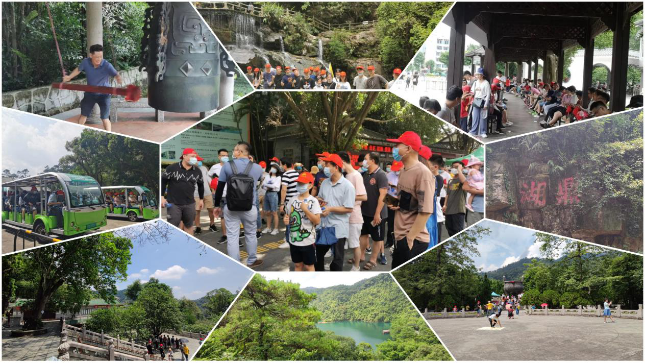 news-XY Screens-A Journey of Harmony - Xiongyun Company Trip to Zhaoqing-img