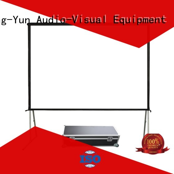 retractable outdoor retractable projector screen personalized for outdoor