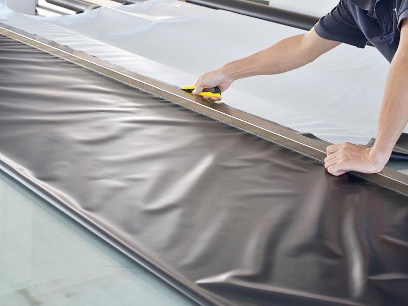 Screen Fabric Cutting-1