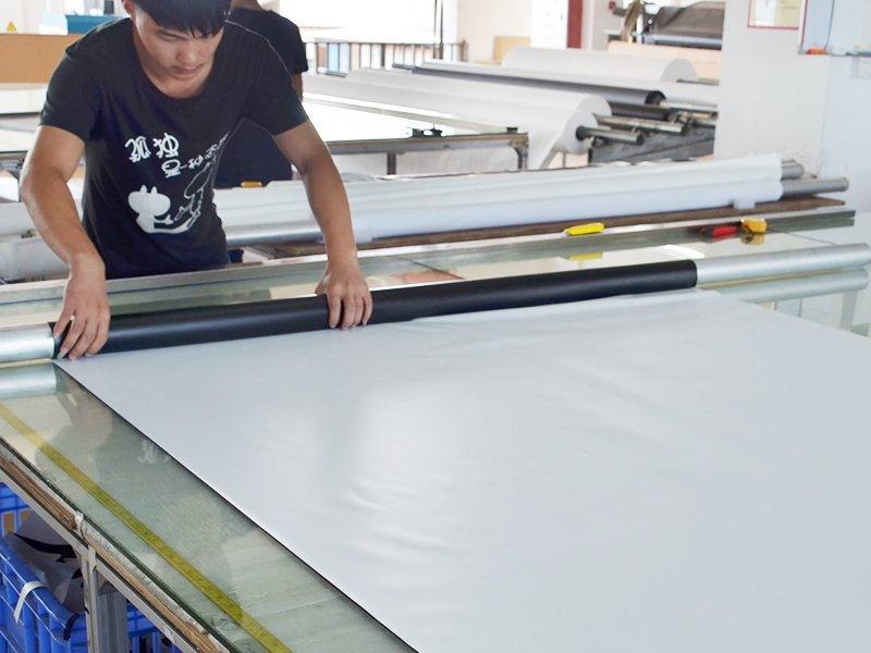 Screen Fabric Cutting-4