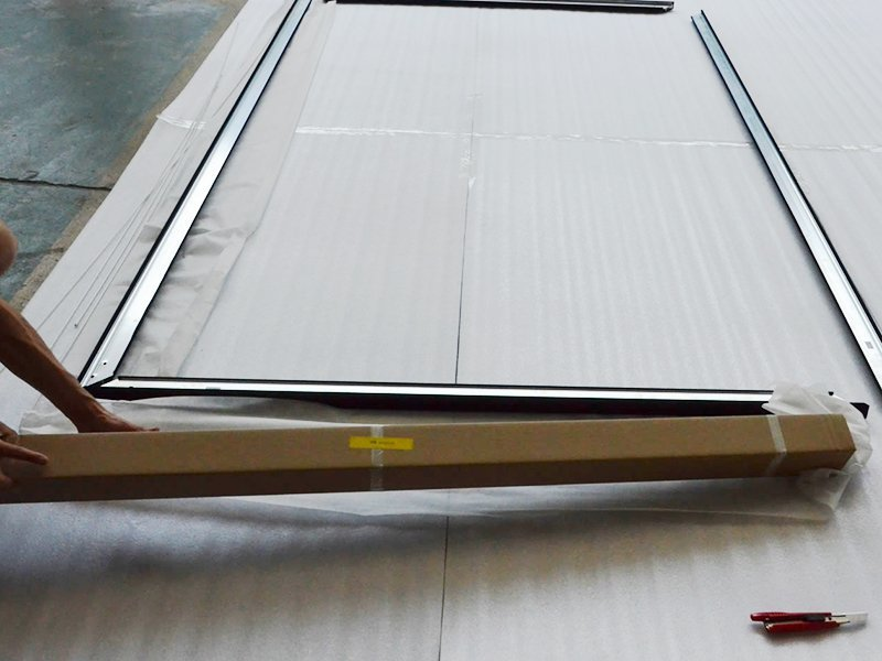 Fixed Frame Screen Assembling-1