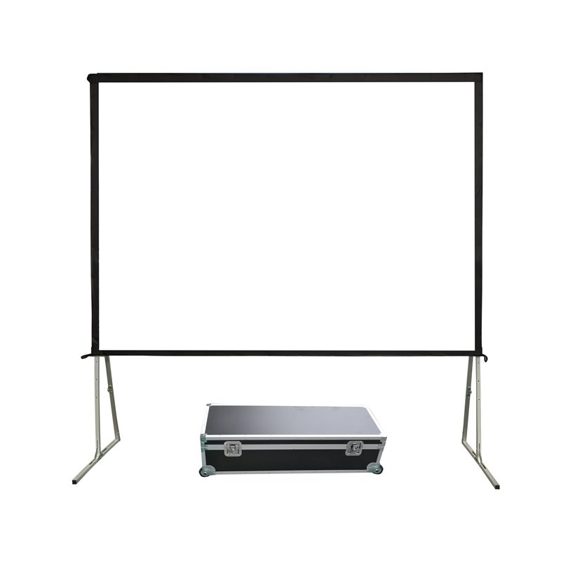 XY Screens 80-400 Inch Portable Fast Folding Projection Screen for Outdoor FF1 Series Outdoor Projector Screens image21