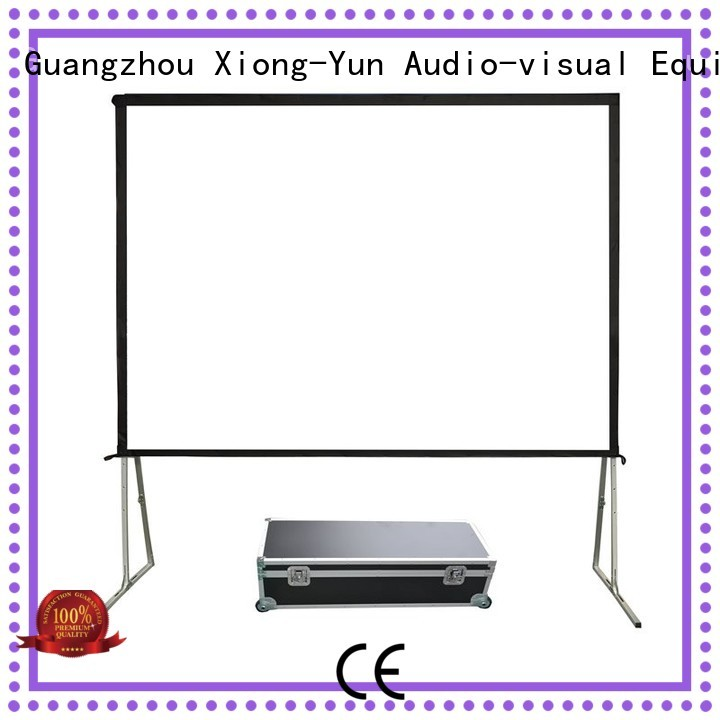 retractable outdoor movie screen for square XY Screens