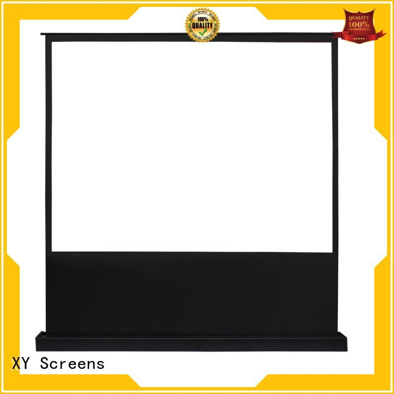 XY Screens pull screen electric pull up projector screen 16 9 manual